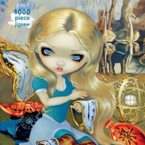 Jigsaw Alice in a Dali Dream (1000 pieces) - Jasmine Becket-Griffith
